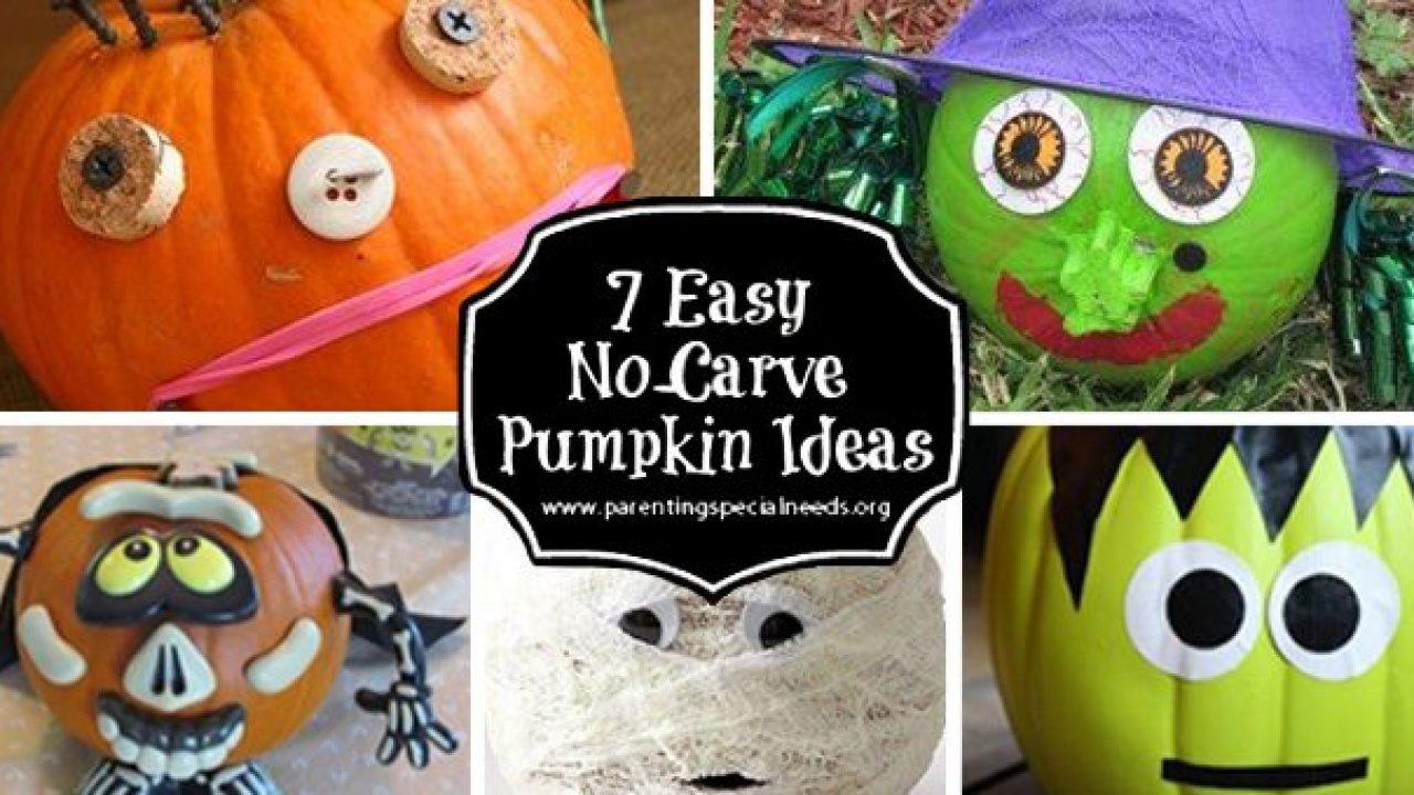 7 Easy No Carve Pumpkin Decorating Ideas Parenting Special