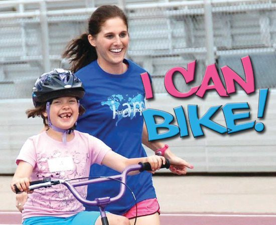 I Can Bike. I Can Shine Making a Difference