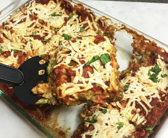 Gluten & Dairy Free LASAGNA: QUICK, EASY AND HEALTHY