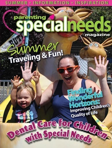 Parenting Special Needs Magazine May/June cover issue 2019