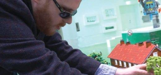 Matthew Shifrin Inspiring Lego for the blind
