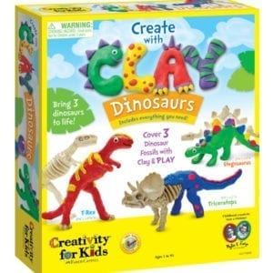 Creativity for kids with Clay_