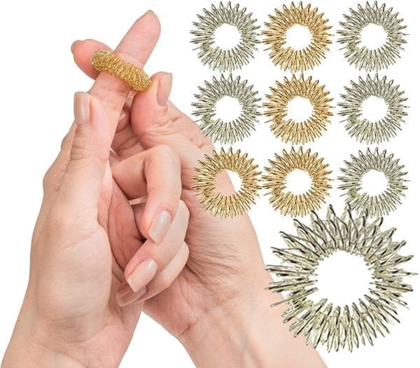 Acupressure Rings for Fingers