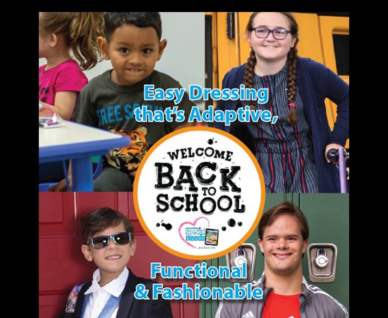 Back-to-School Easy Dressing thats Adaptive, Functional & Fashionable Too!